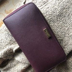Kate Spade Neda Laurel Way Zip around Wallet
